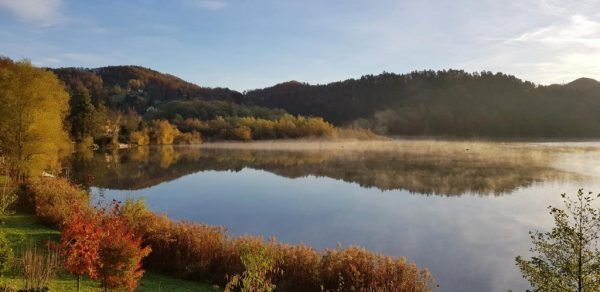 Slivnica Lake - it is most beautiful when it awakens from the morning haze