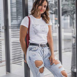 T-shirt WORLD women (Organized)