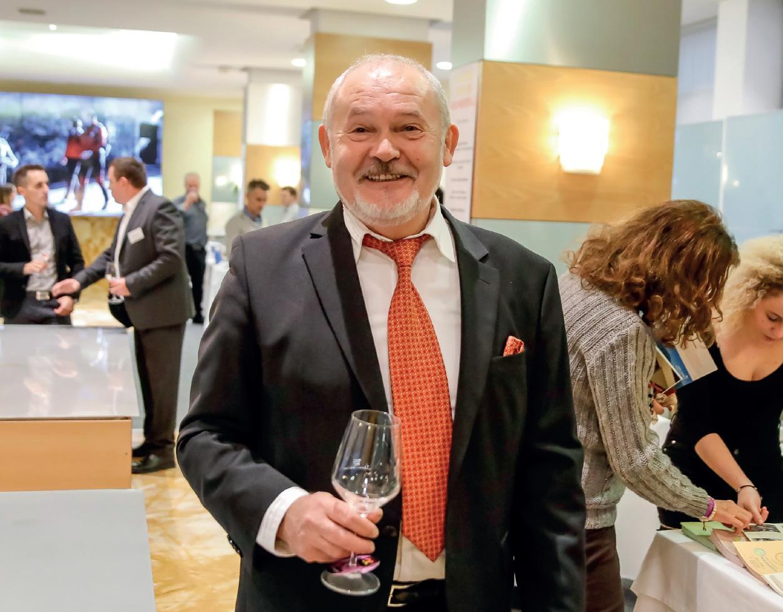 Radomir Stojanovič Ljubljana's top wine event organiser