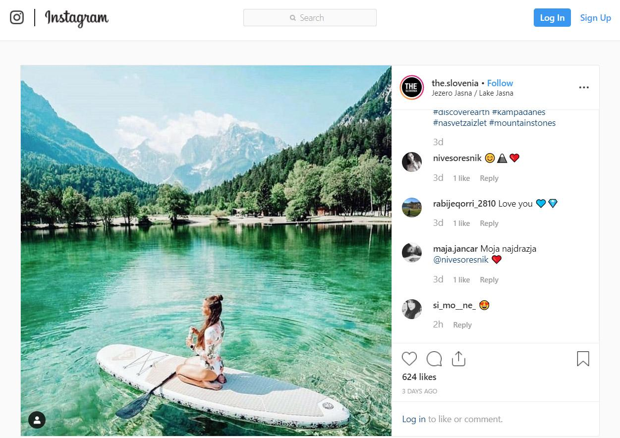 THE SLOVENIA Photo of the week 31 2019 Lake Jasna
