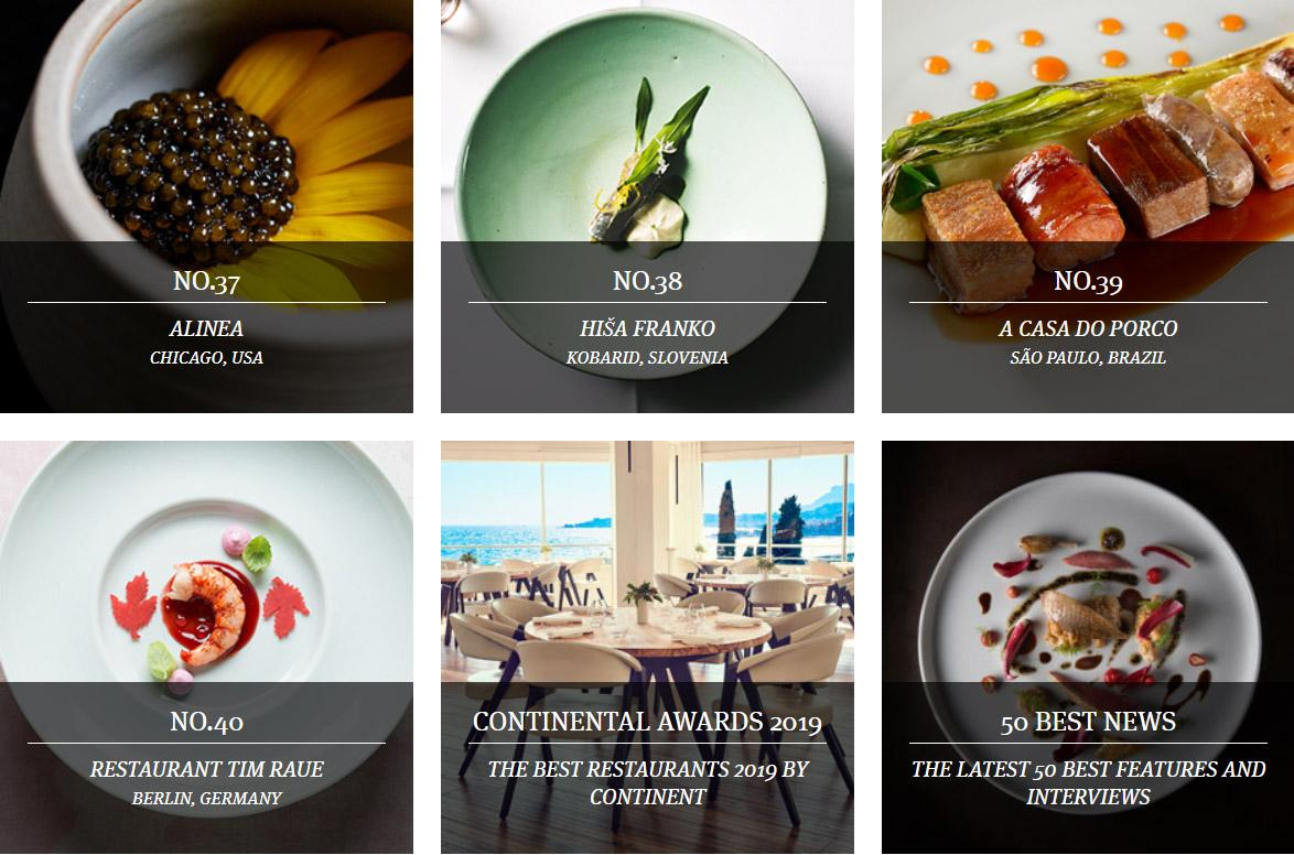 The World S 50 Best Restaurants 2019 The Slovenia