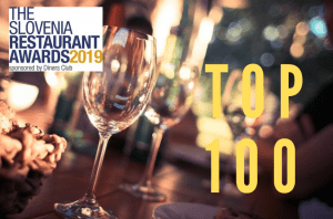 top 100 restaurrants Slovenia