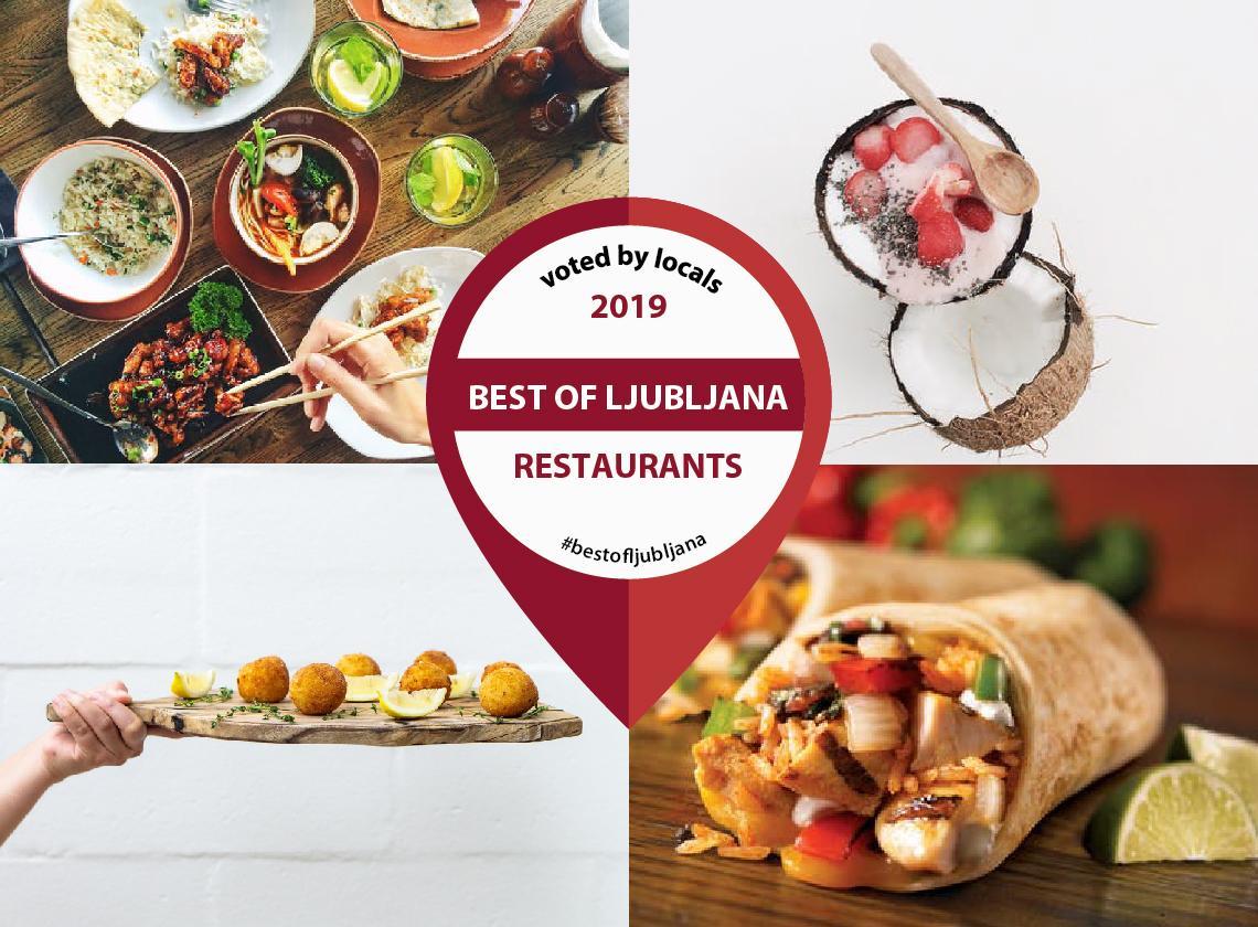vote for the best restaurant in ljubljana by in youe pocket