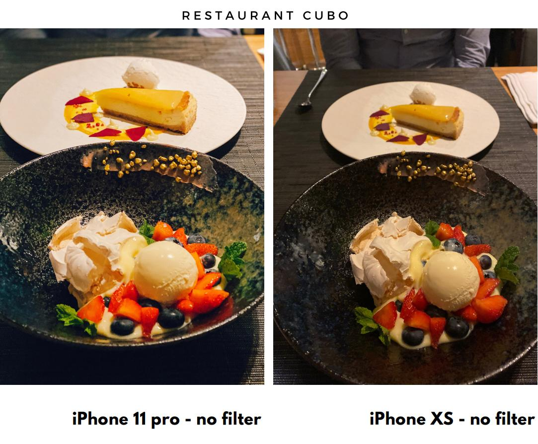 iPhone photo test iPhone 11 pro vs. iPhone XS