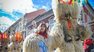 scare away winter with Kurents in Ptuj