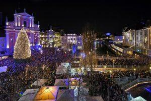 Switch on the Christmas Lights in the biggest Slovenian cities