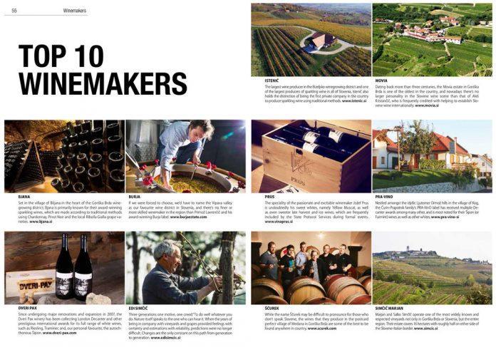 best top winemakers in slovenia medana, goriška brda