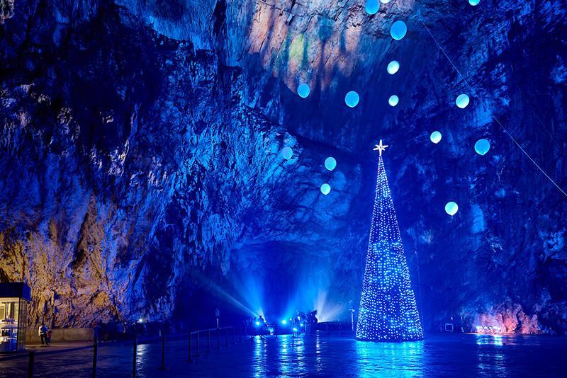 The Living Nativity Scenes in Postojna Cave