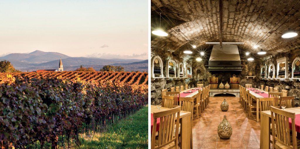 vinakras karst wine region